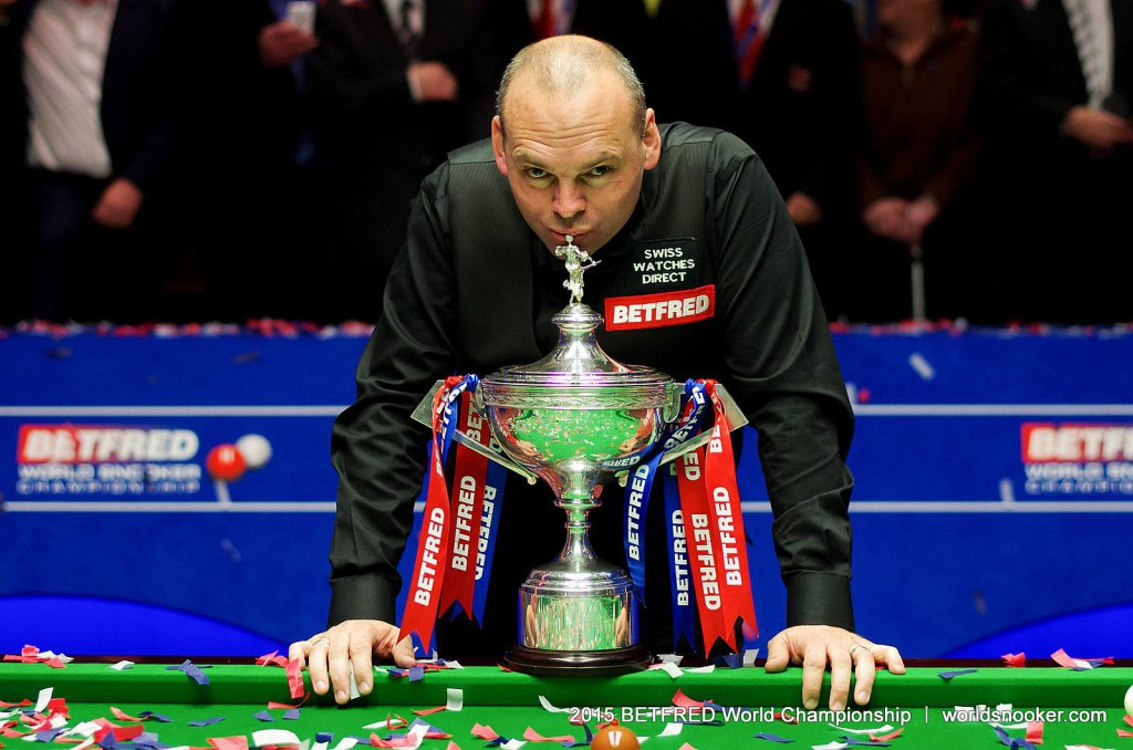 Stuart Bingham. Photo the World Snooker