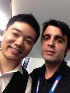 Ding Junhui y José Miguel