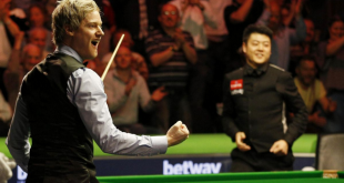 Neil Robertson 147 Final UK 2015