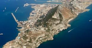 Gibraltar, vista aérea