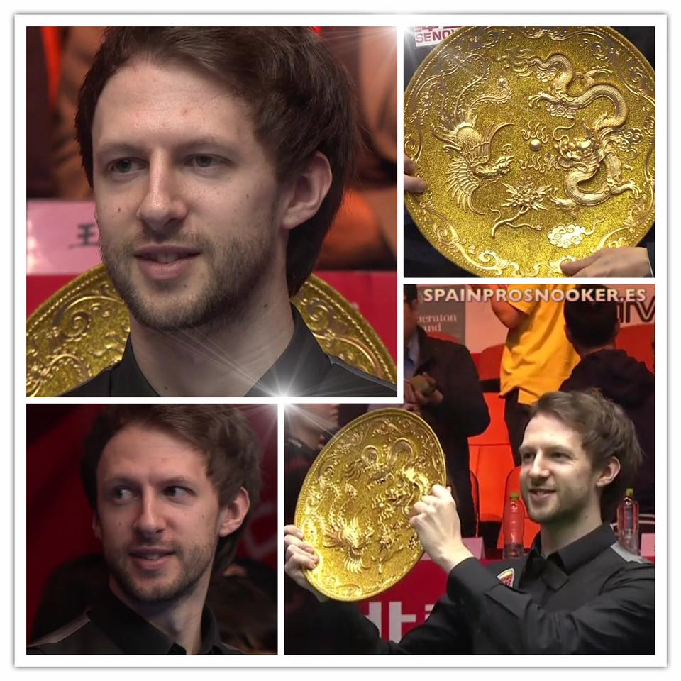 Judd Trump Campeón Open de Chine 2016