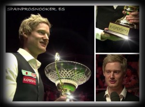 Neil Robertson campeón 2016