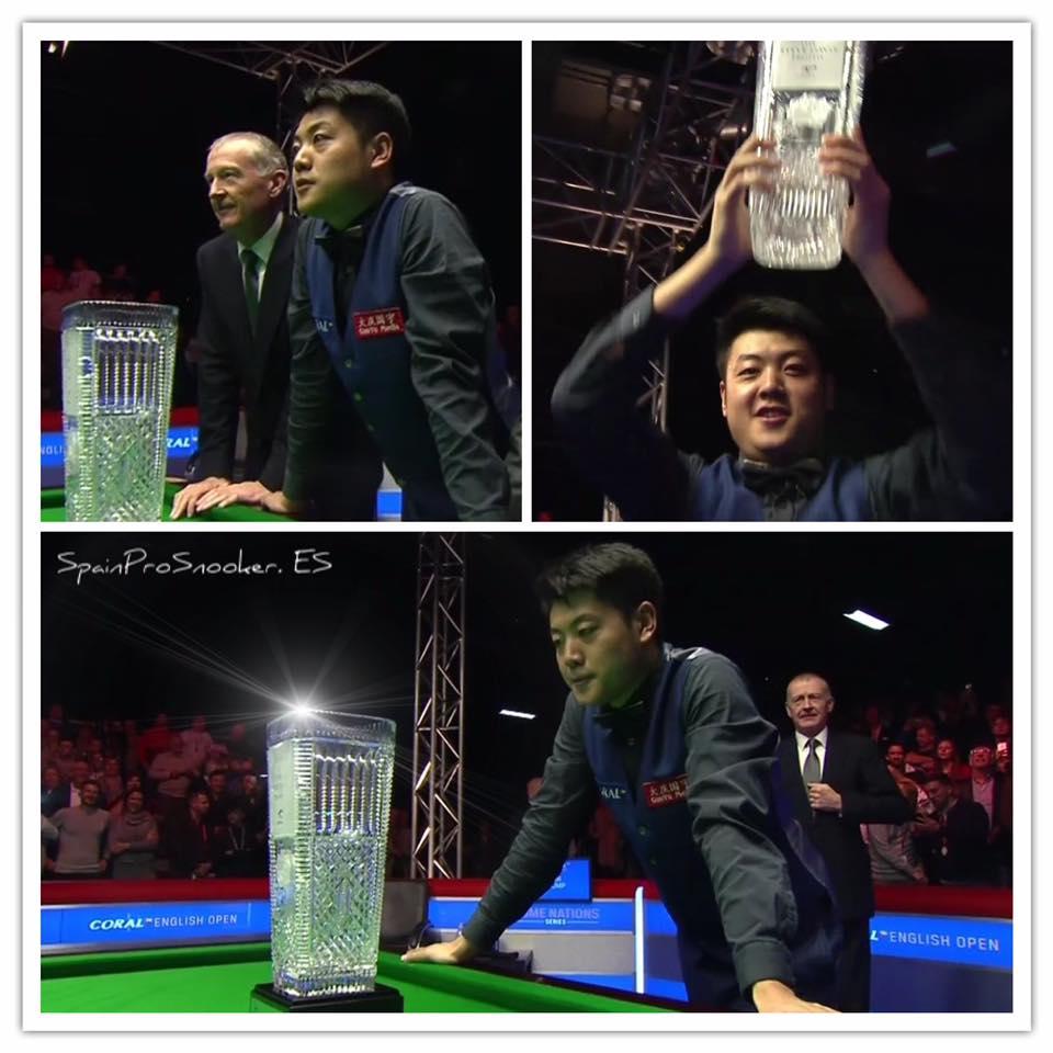 Liang Wenbo Campeón Englis Open 2016