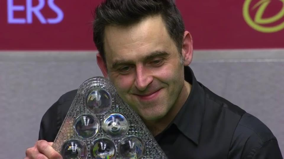 Ronnie O'Sullivan Campeón Masters 2017