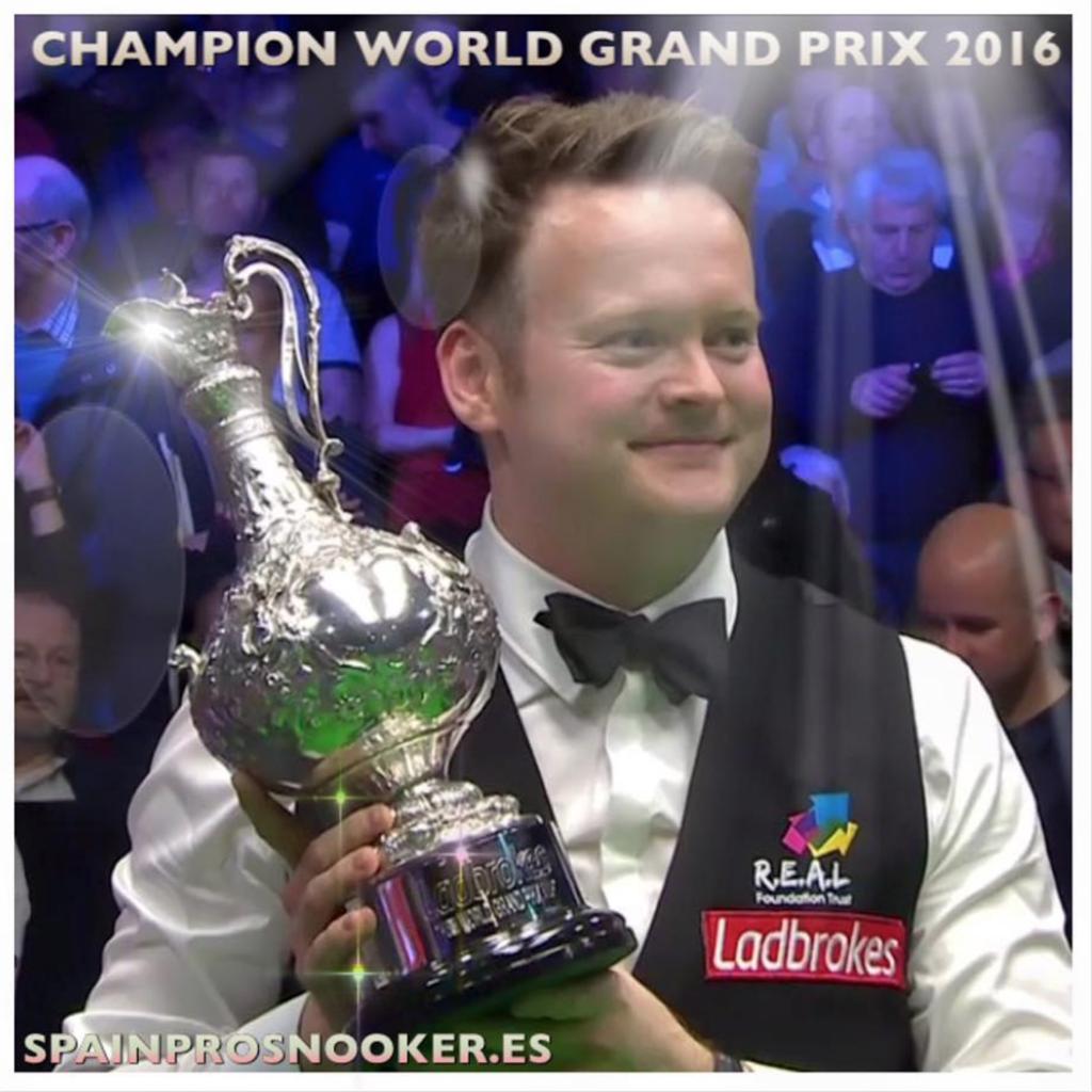 Shaun Murphy Campeón World Grand Prix 2016