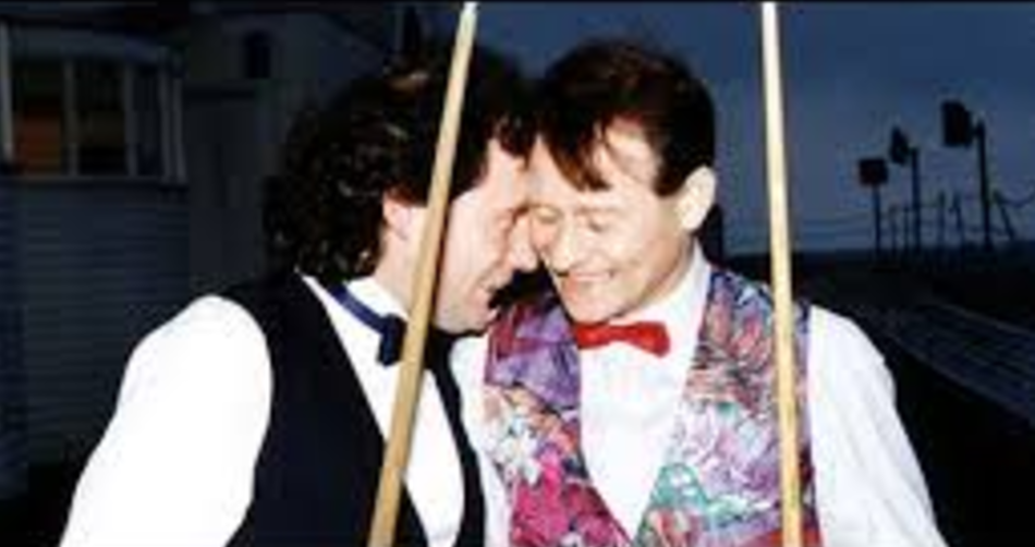 Alex Higgins y Jimmy White
