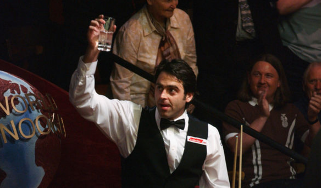 Ronnie O'Sullivan ONE FOUR SEVEN TEATRO CRUCIBLE