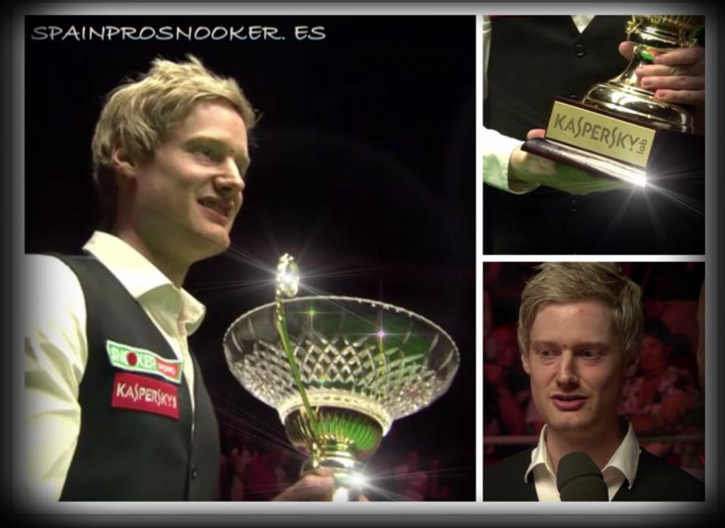 Neil Robertson Campeón Riga Masters 2016