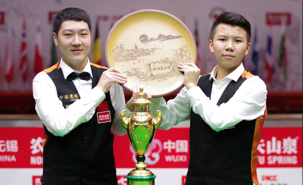 China B Campeones World Cup 2015. Yan Bingtao-Zhou Yuelong