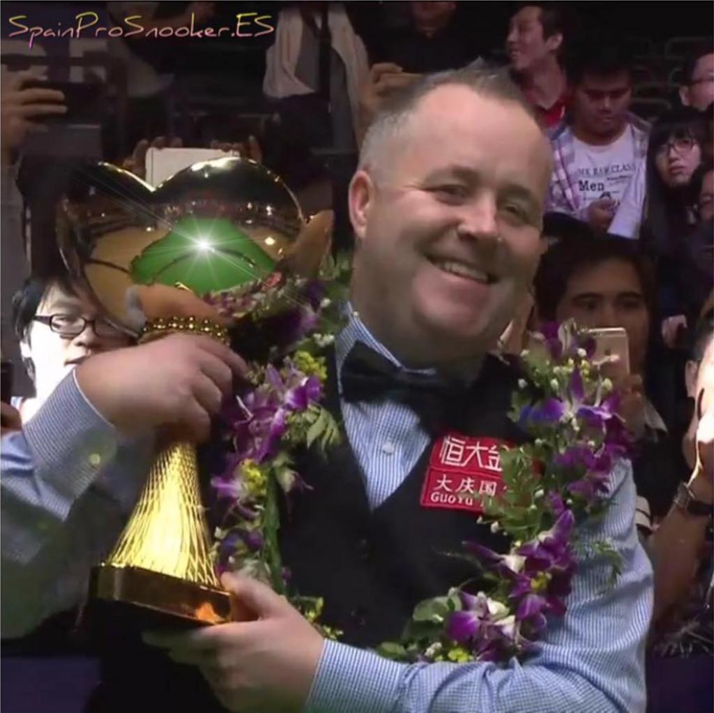 John Higgins Campeón China Meisterschaft 2016