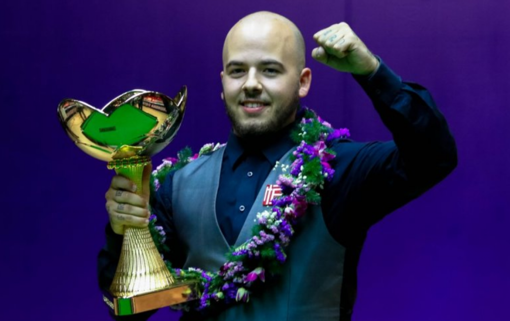 Luca Brecel Champion China Championship 2017