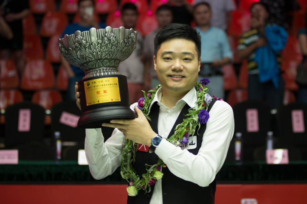 Ding Junhui Campeón World Open 2017