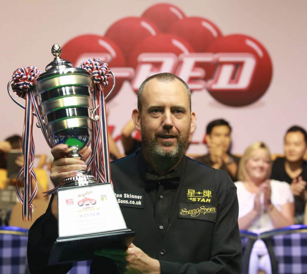 Mark Williams Champion 6 Campionato mondiale rosso 2017