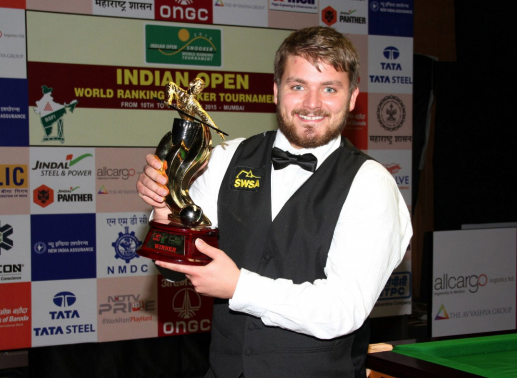 Michael White Campeón India Open 2016