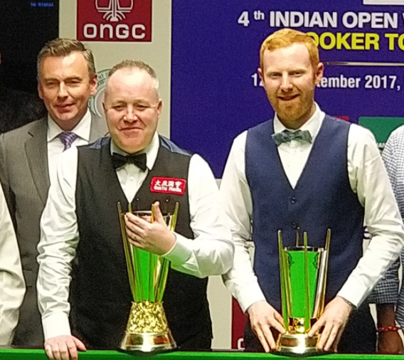John Higgins Campeón India Open 2017