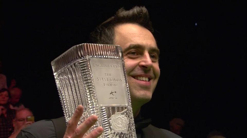 Ronnie O'Sullivan Campeón English Open 2017