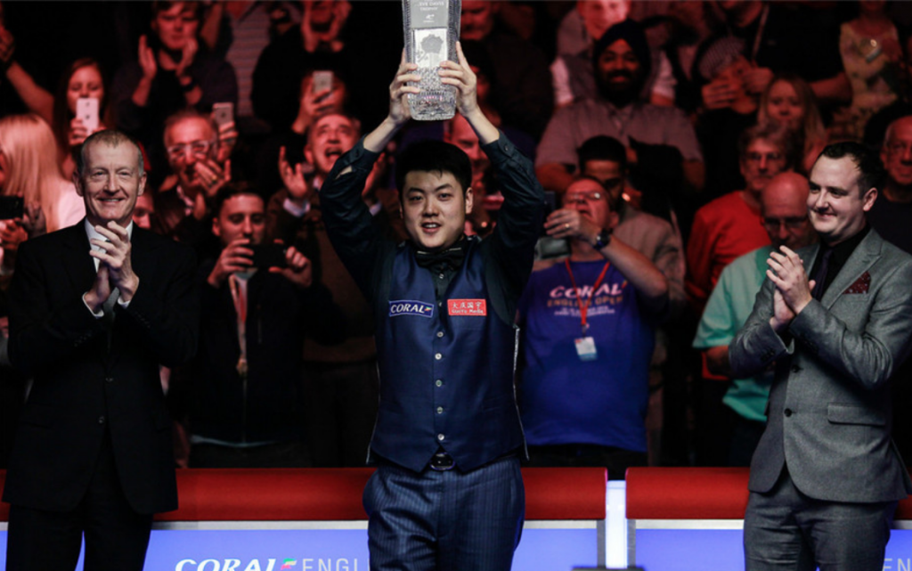 Liang Wenbo Campeón English Open 2016