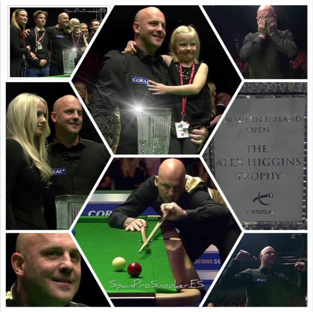 Mark King Campeón Northern Ireland Open 2016