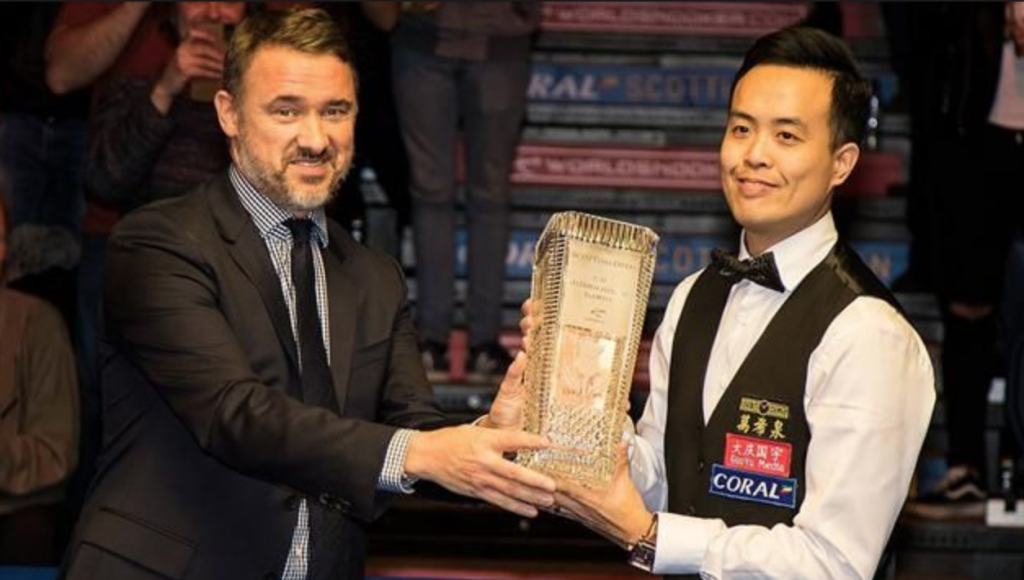 Marco Fu Campeón Scottish Open 2016