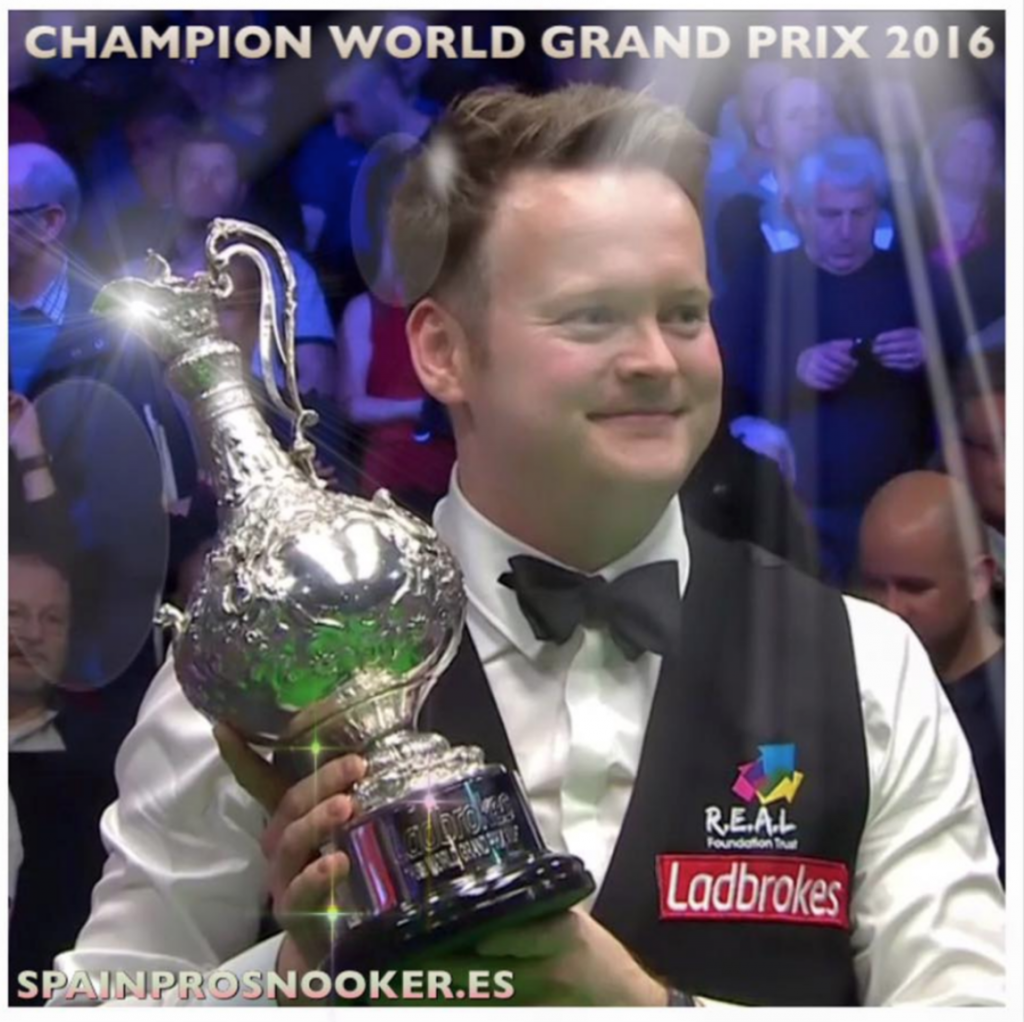Shaun Murphy World Grand Prix Champion 2017