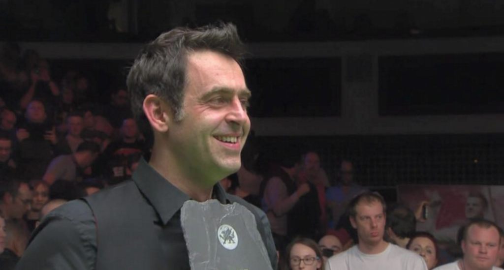 Ronnie O'Sullivan Welsh Open Champion 2016