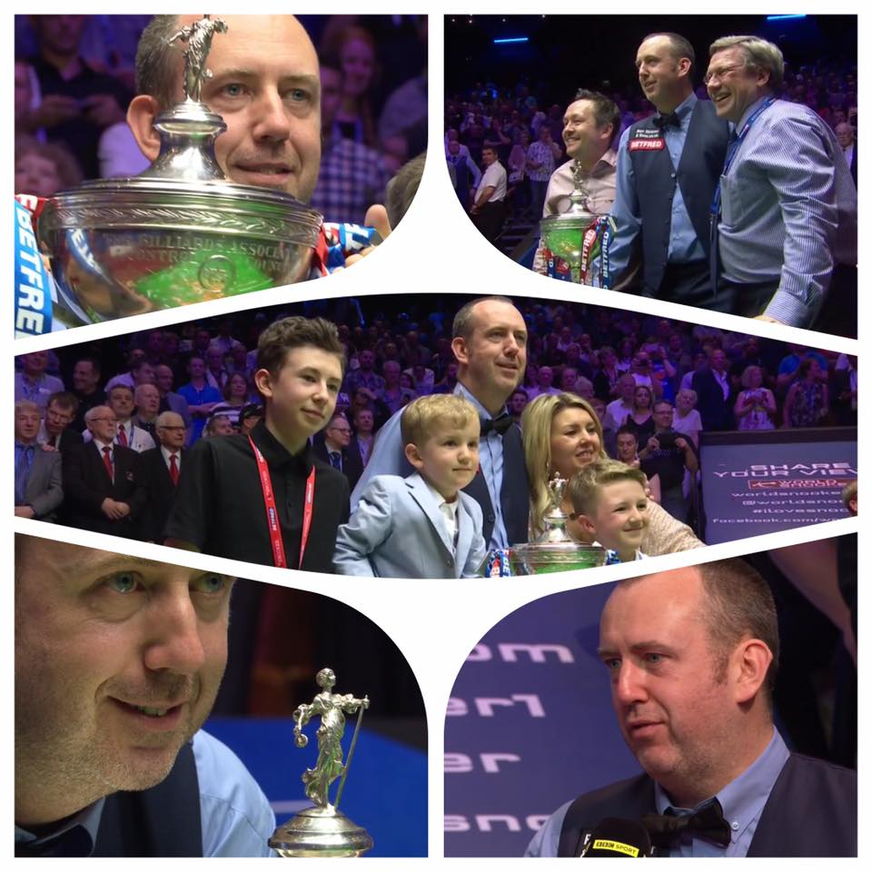 MARK WILLIAMS World Championship 2018