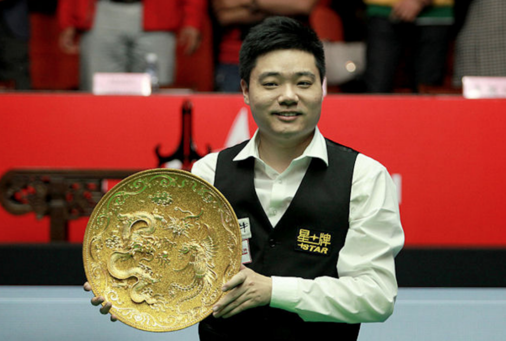 Ding Junhui Campeón China Open 2014