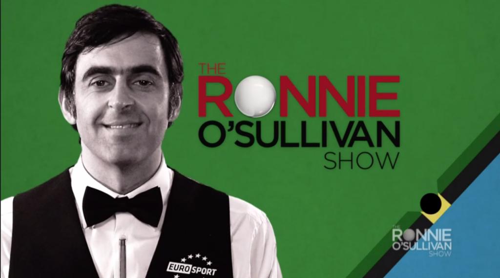 Ronnie O'Sullivan Embajador de Eurosport
