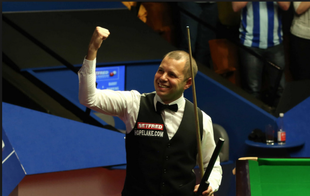 Barry Hawkins  World Championship Teatro Crucible