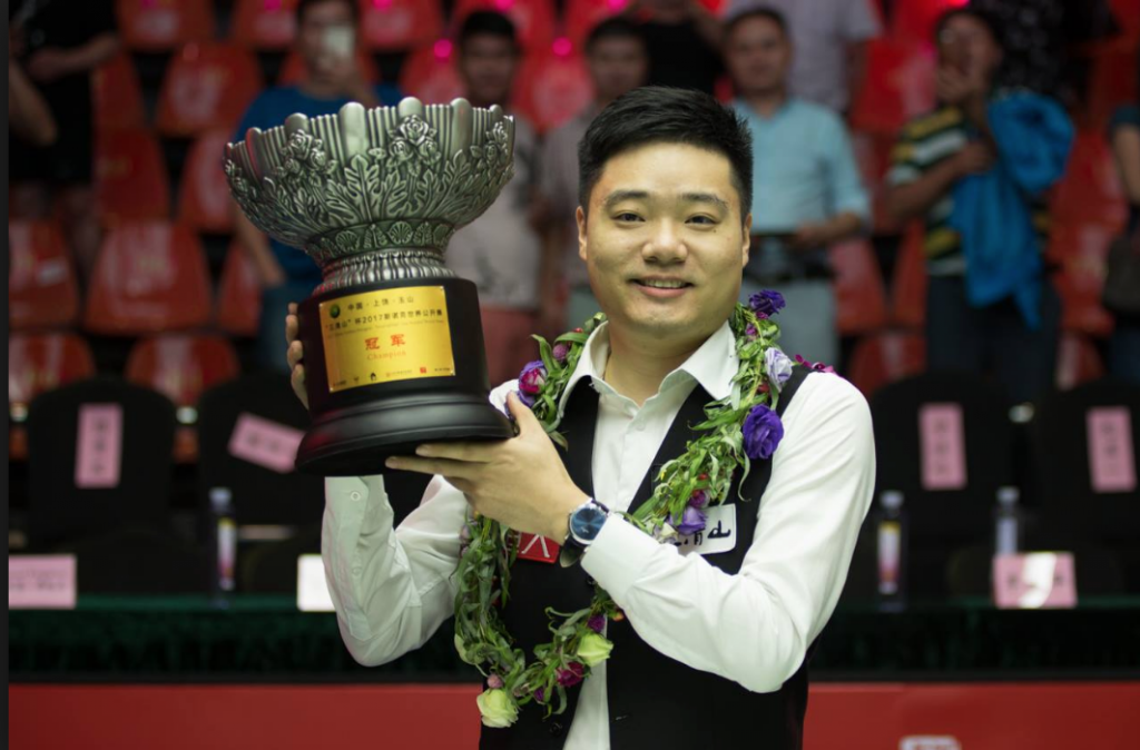 Ding Junhui World Open Champion 2017