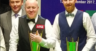 John Higgins Campeón  Anthony McGill SubCampeón  Indian Open 2019