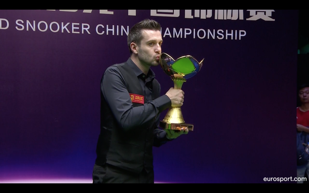 Mark Selby Campeón China Championship 2018