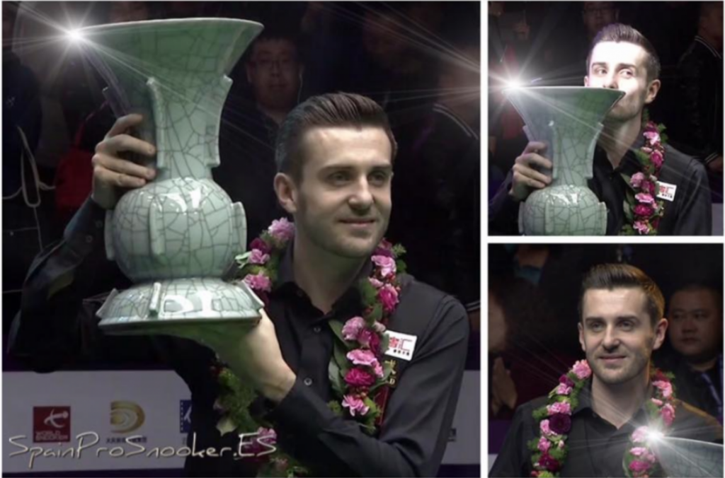 Mark Selby Campeón International Championship 2016 e 2017