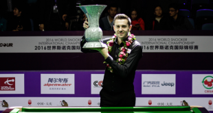 Mark Selby Campeón International Championship 2016 y 2017