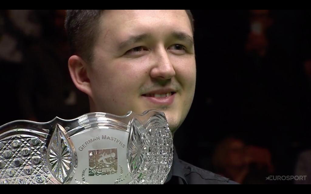 Kyren Wilson Campeón Deutscher Meister 2019