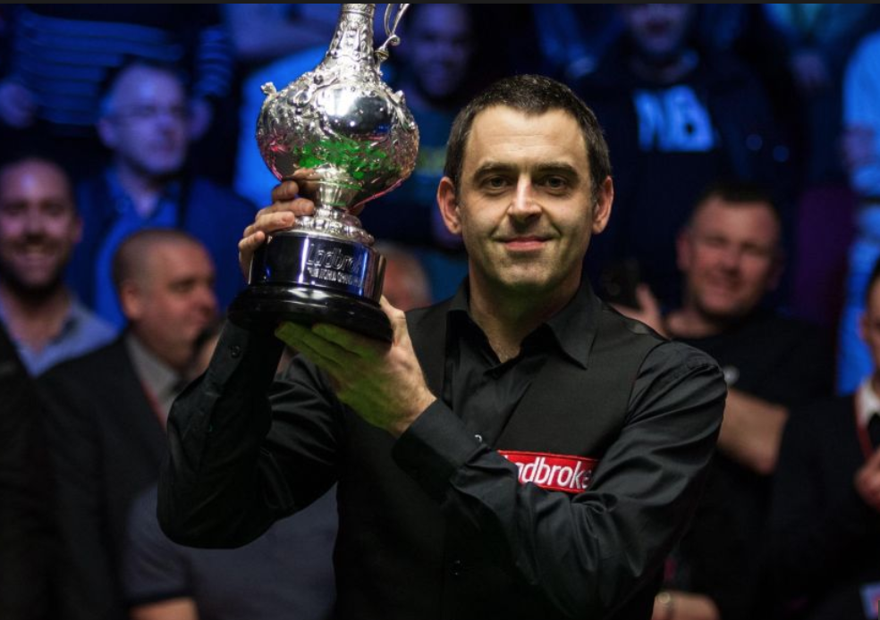 Ronnie O'Sullivan Campión do Gran Premio do Mundo 2018  World Grand Prix 2019