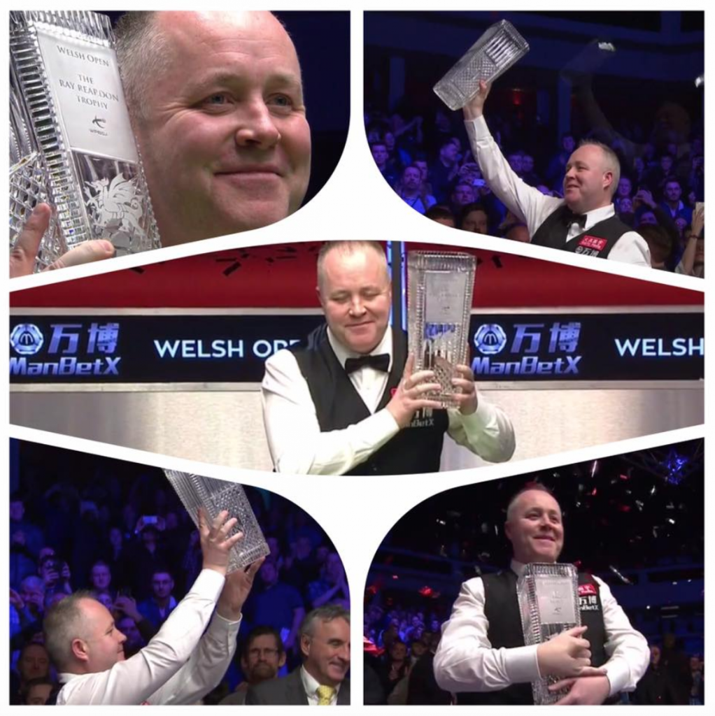 John Higgins Campeón Welsh Open 2018