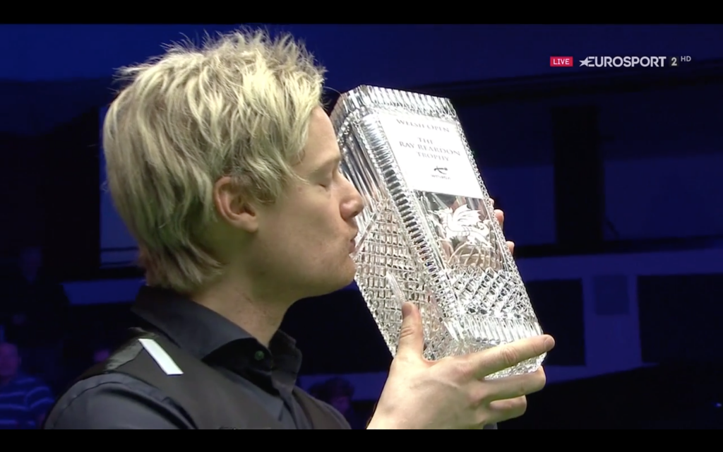 Neil Robertson Campeón Welsh Open 2019