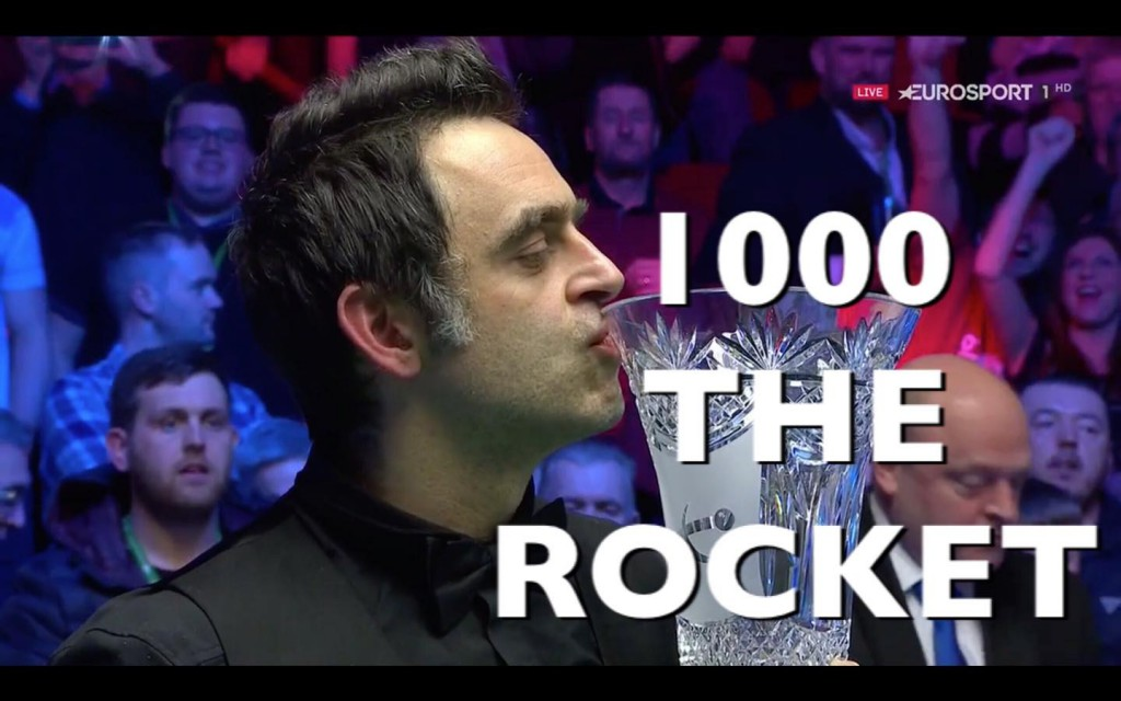 RONNIE O'SULLIVAN CAMPEÓN PLAYERS CHAMPIONSHIP 2018 AND 2019