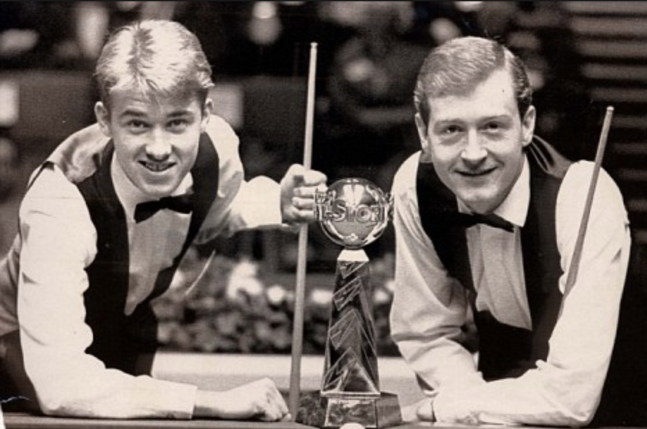 Stephen Hendry et Steve Davis Final UK Championship 1990