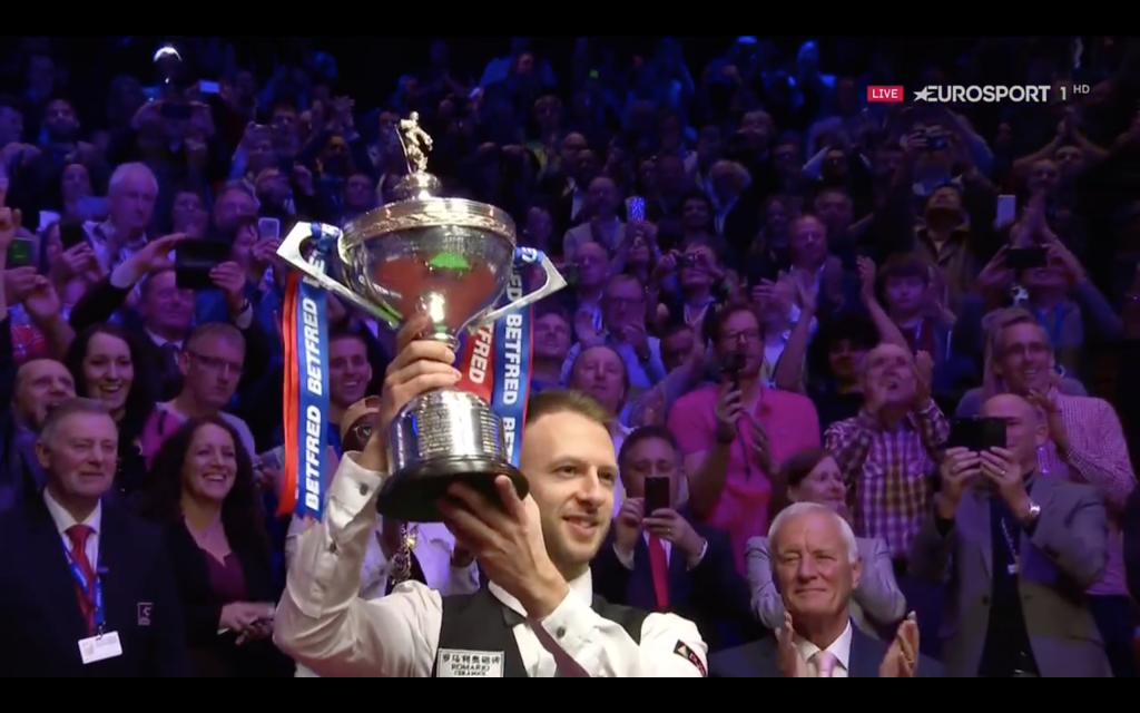 JUDD TRUMP WORLD CHAMPION 2019 and CURRENT Nº 1 OF THE WORLD