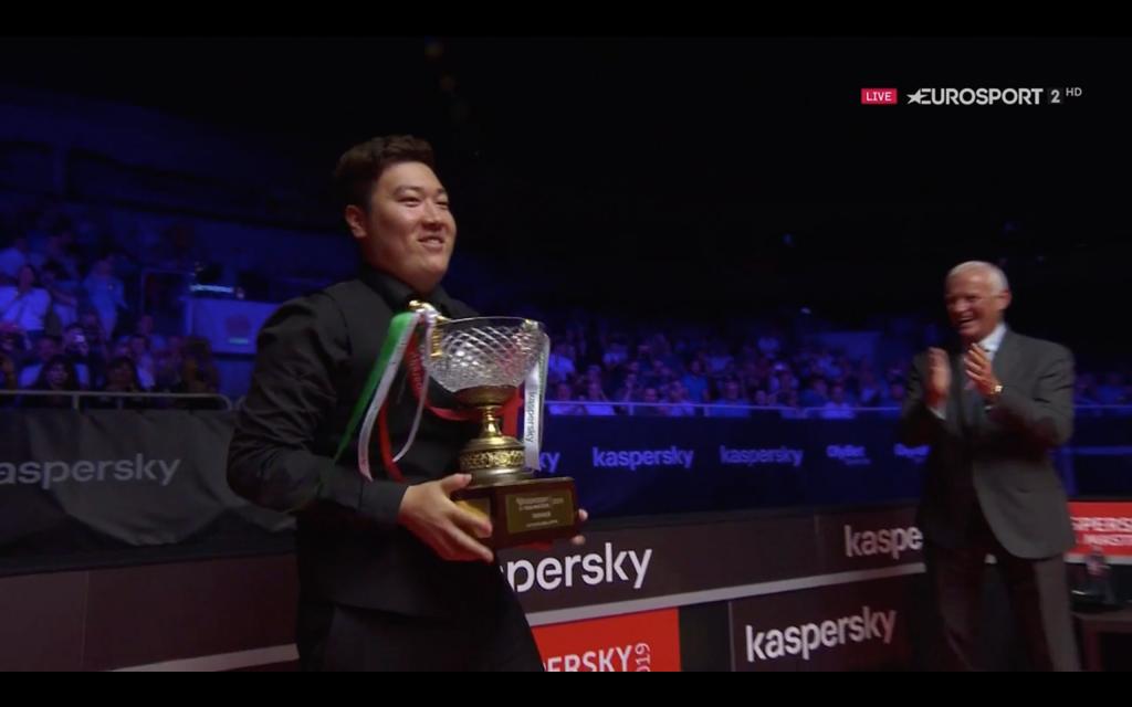 Yan Bingtao Campeón Riga Masters 2019