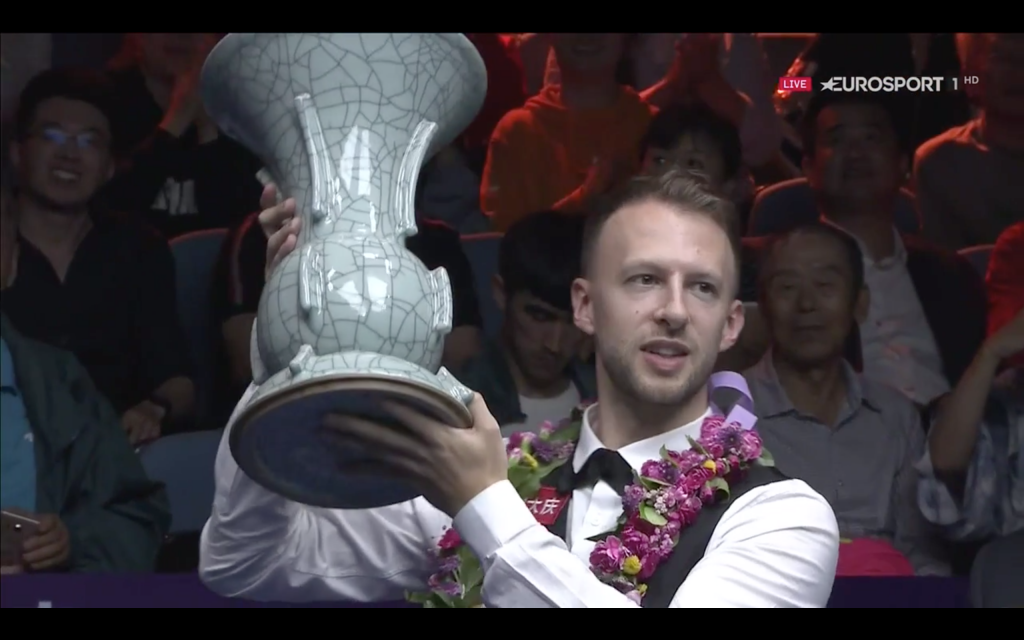JUDD TRUMP CAMPEÓN INTERNATIONAL CHAMPIONSHIP 2019