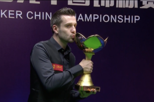 Mark Selby Campeón China Championship 2018