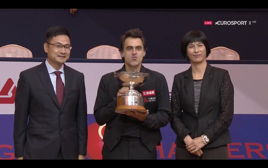 Ronnie O'Sullivan Campeón Shanghai Masters 2019