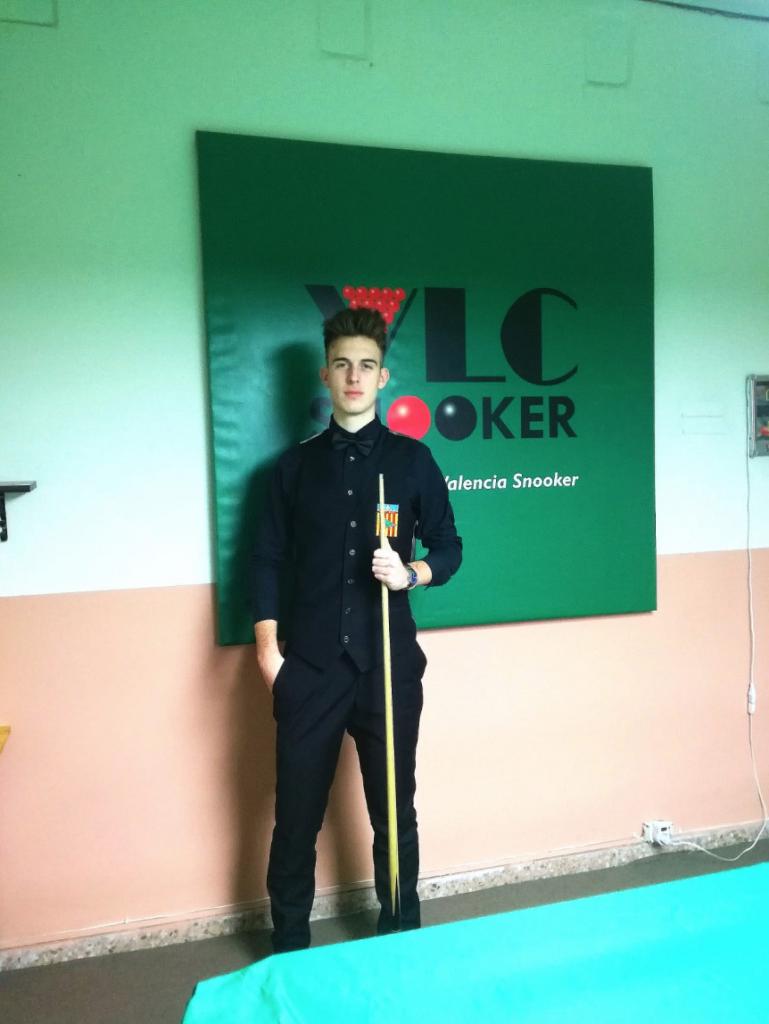 José María Cortés Club Valencia Snooker