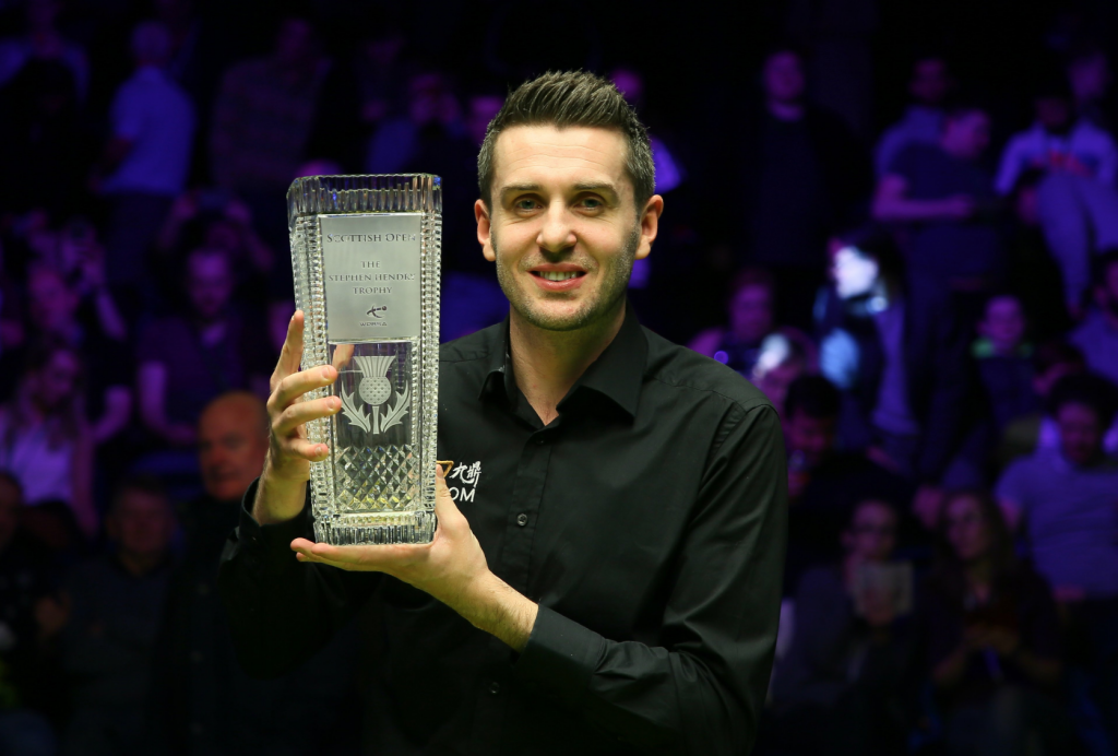 Mark Selby Campeón Scottish Open 2019